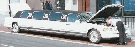 Limousine service for your big night out.